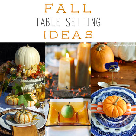 Fall Table Setting Ideas The Cottage Market