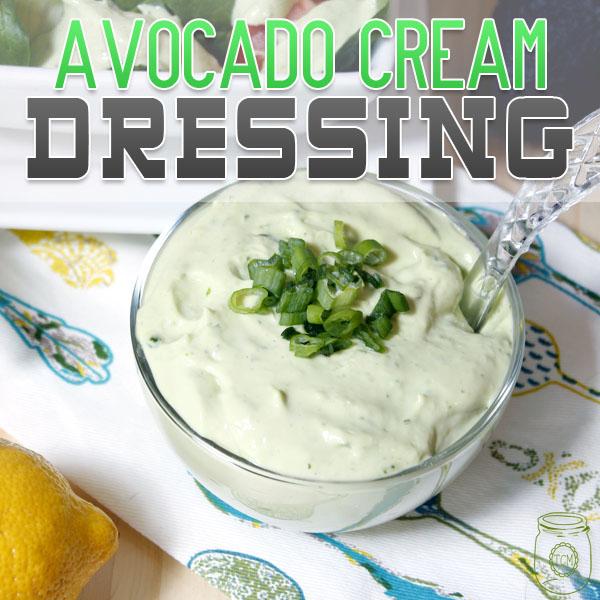 Avocado Creamy Dressing