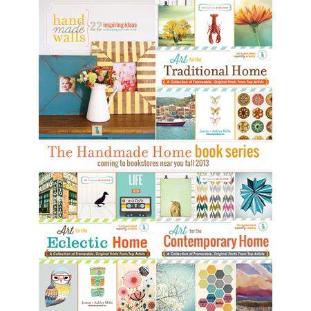 The Handmade Home...The Handmade Home Book Series