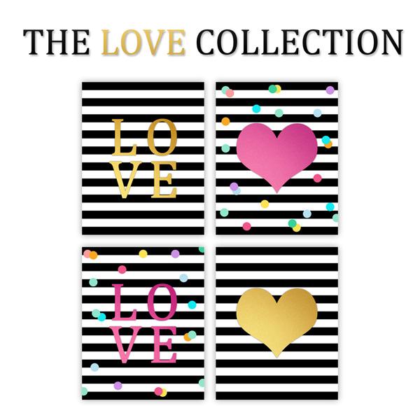 Free Printable Wall Art {Love Collection}