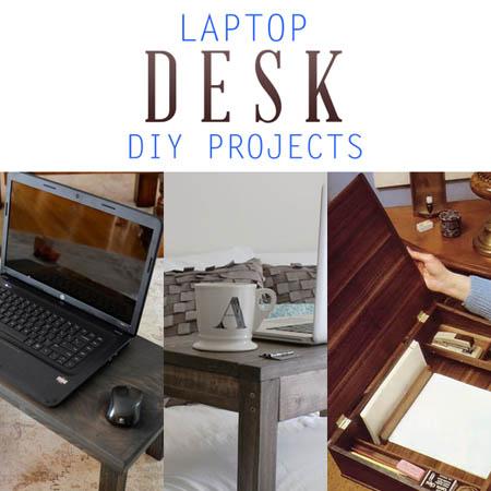 Laptop Desk DIY Projects