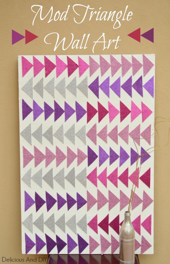 Mod-Triangle-Wall-Art