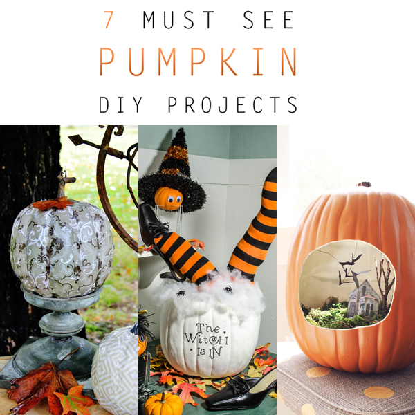 7 Must See Pumpkin DIY Projects