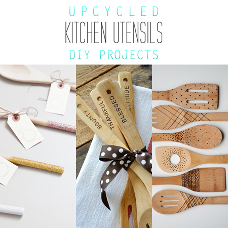 Upcycled Kitchen Utensil DIY Projects {Perfect Gifts}
