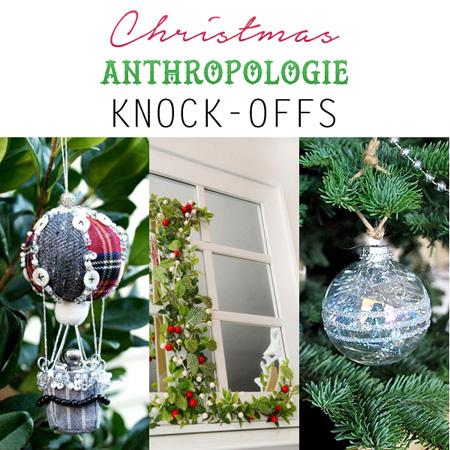 Christmas Anthropologie Knock-Offs