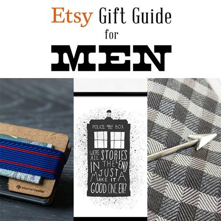 Etsy Gift Guide for Men