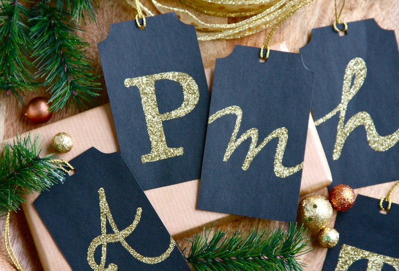 Monogram Gift Tags 1