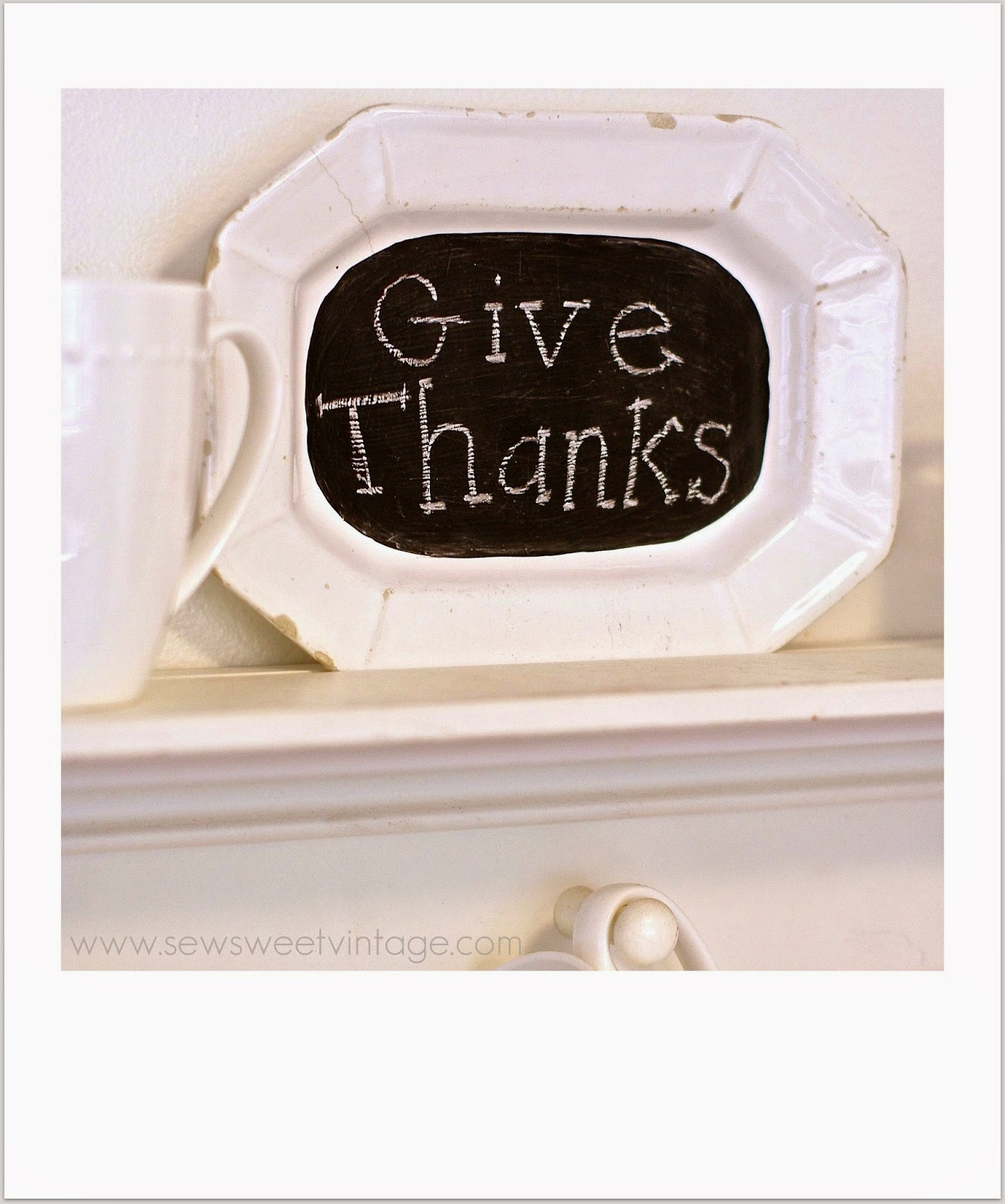 give thanks polaroid