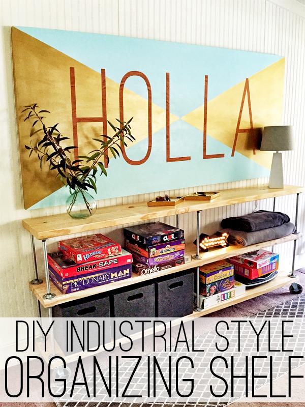 Industrial Storage Cart DIY