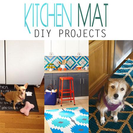 Kitchen Mat DIY Projects
