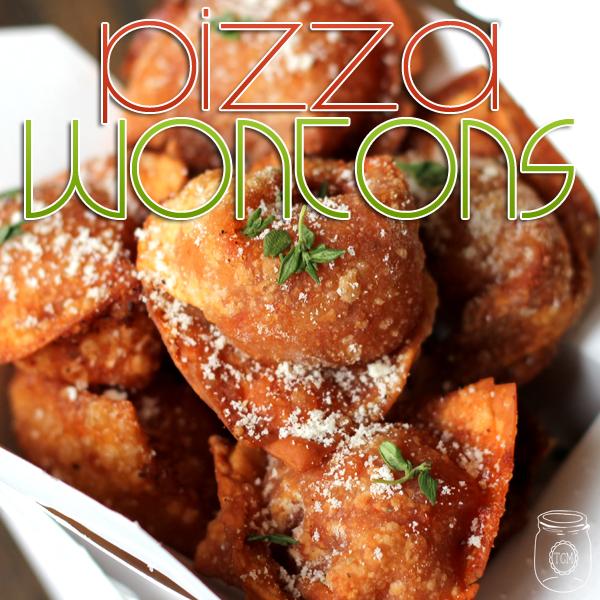 Pizza Wontons