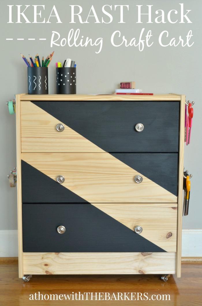 Rolling-Craft-Cart-Ikea-Rast-Hack-700x1056