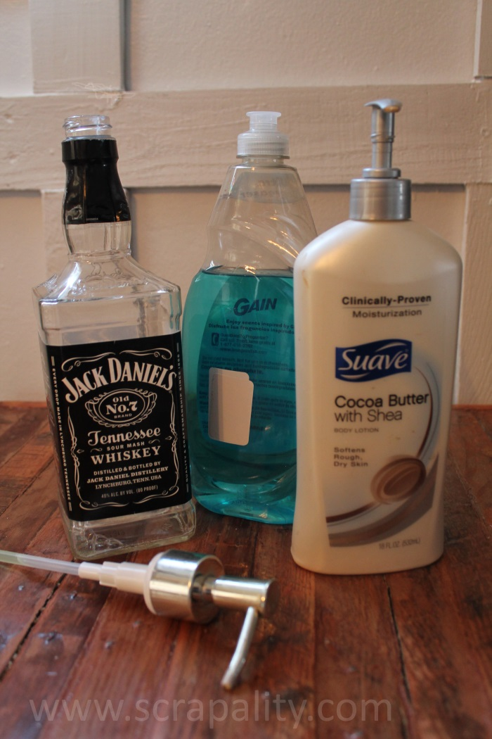 Whiskey-Bottle-Soap-Dispenser