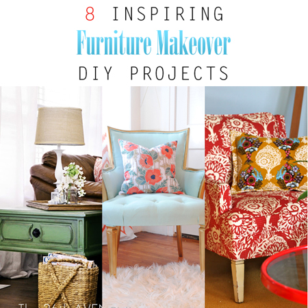 8 Inspiring Furniture Makeover DIY Projects