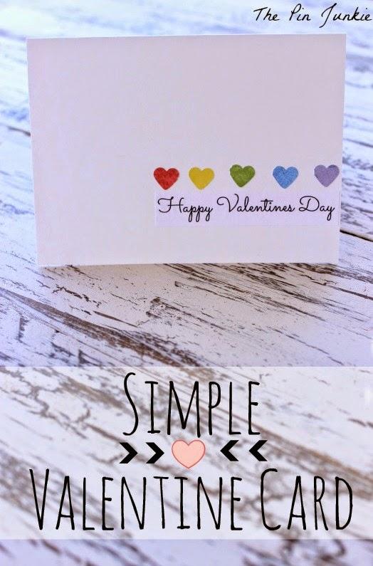 simple valentine card