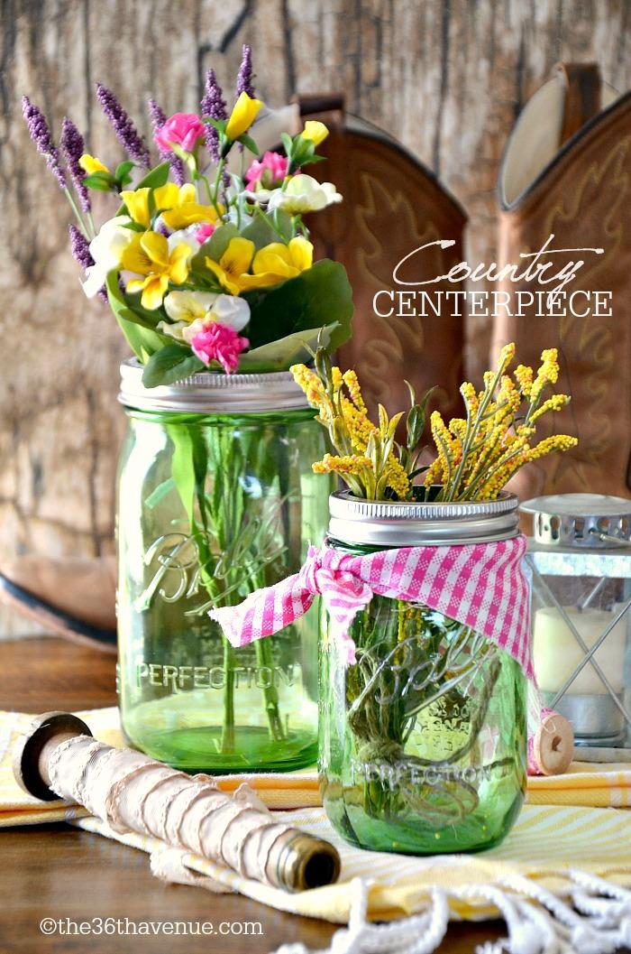 Mason-Jar-Crafts-Wedding-Centerpiece-at-the36thavenue.com-