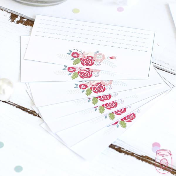 Wedding Wish Jar Diy With Free Printables The Cottage Market
