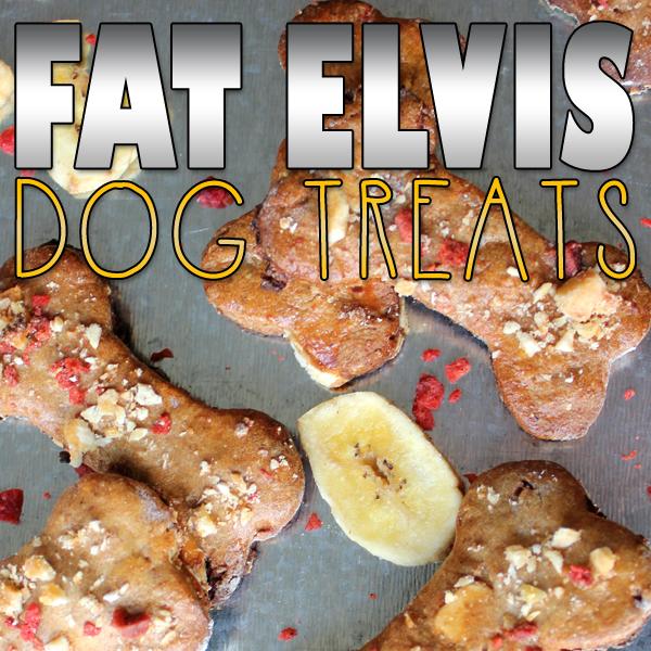 Fat Elvis Homemade Dog Treats