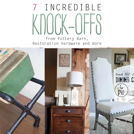 7 Incredible Knock-Offs from Pottery Barn, Restoration Hardware and more