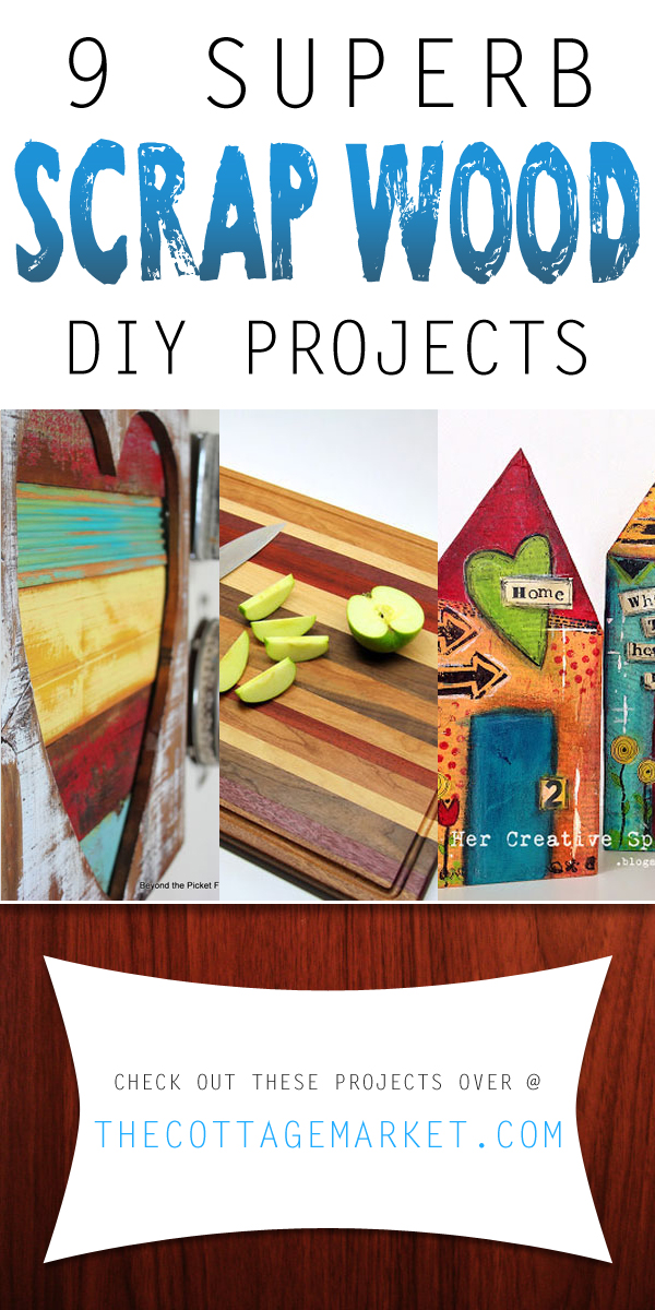 9 Superb DIY Scrap Wood Projects