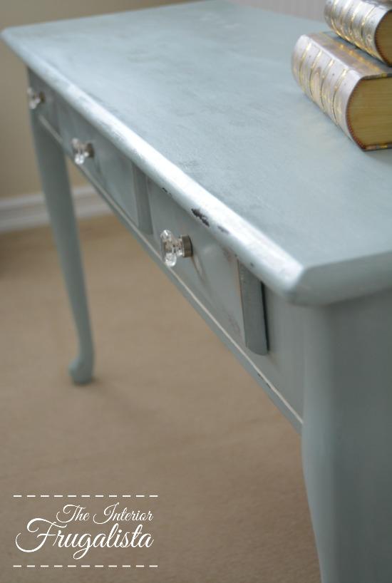 Turquoise Sofa Table 5W
