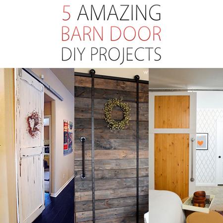 5 Amazing Barn Door DIY Projects