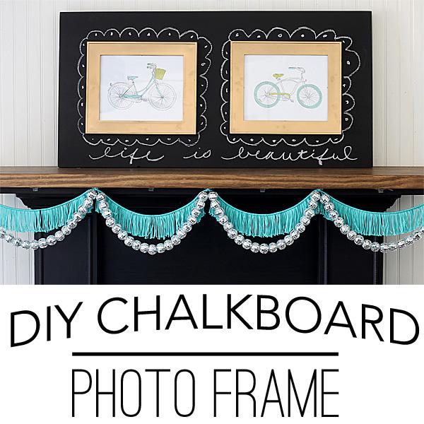 DIY-chalkboard-photo-frame