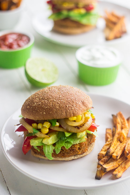 Mexican-Sweet-Potato-Veggie-Burger-2
