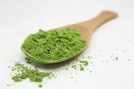 Matcha powder found in green tea is full of antioxidants.