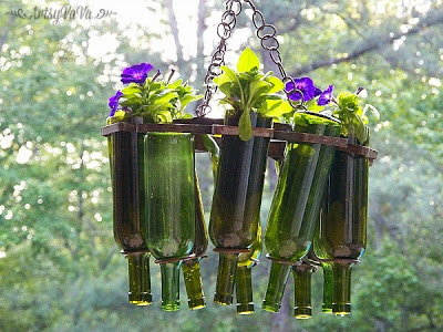 wine bottle planter1G