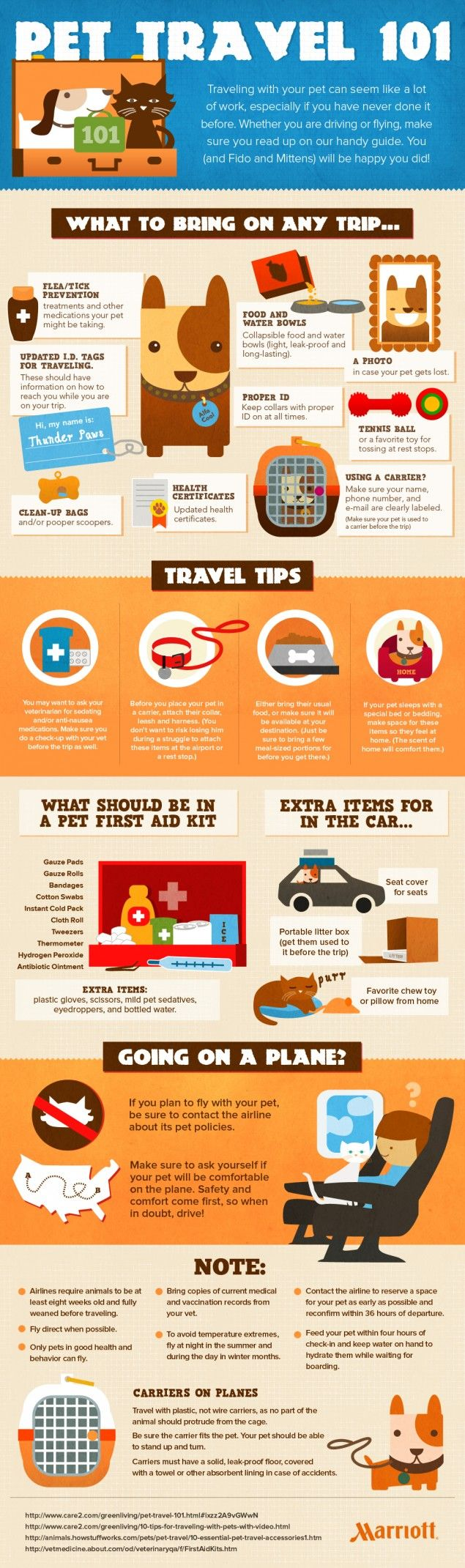 Pet Safety Infographic - pet travel 101: how to keep your pets safe when traveling
