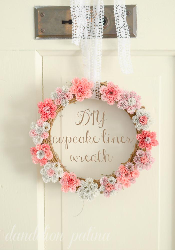DIY-pink-gray-cream-wreath