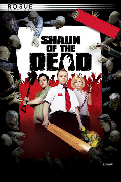 Keyart for Shaun of the Dead.