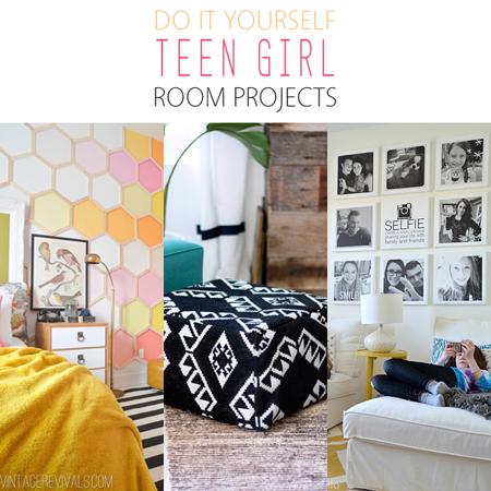 DIY Teen Girl Room Projects