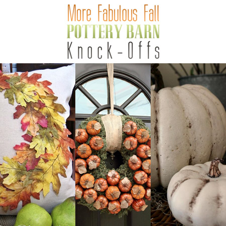 More Fabulous Fall Pottery Barn Knock-Offs