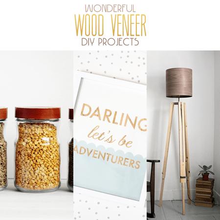 Wonderful Wood Veneer DIY Projects