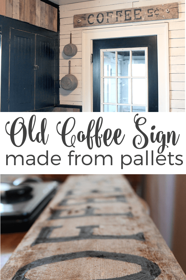Old-Coffee-Sign-Made-From-Pallets