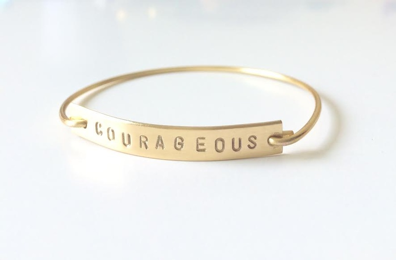 This lovely golden bar bracelet is the perfect gift for a teen girl