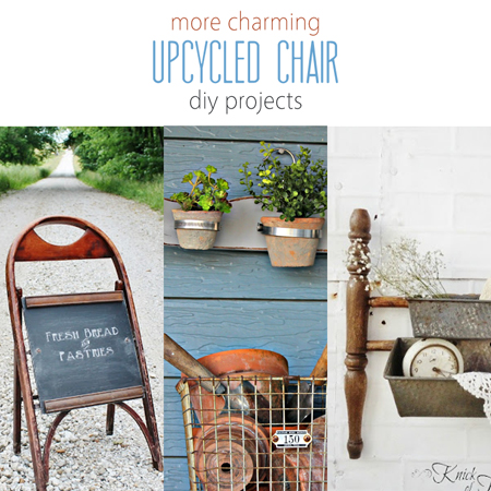 More Charming Upcycled Chair DIY Projects