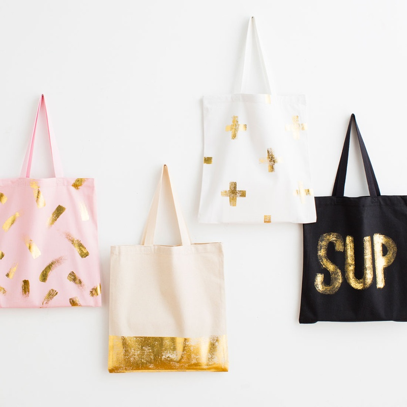 Teen girls carry so much stuff - these tote bags are stylish and adorable