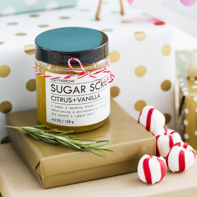 Pamper your princess with a sweet sugar scrub