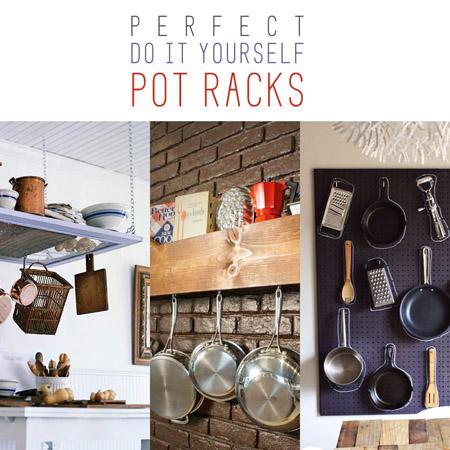 Perfect DIY Pot Racks