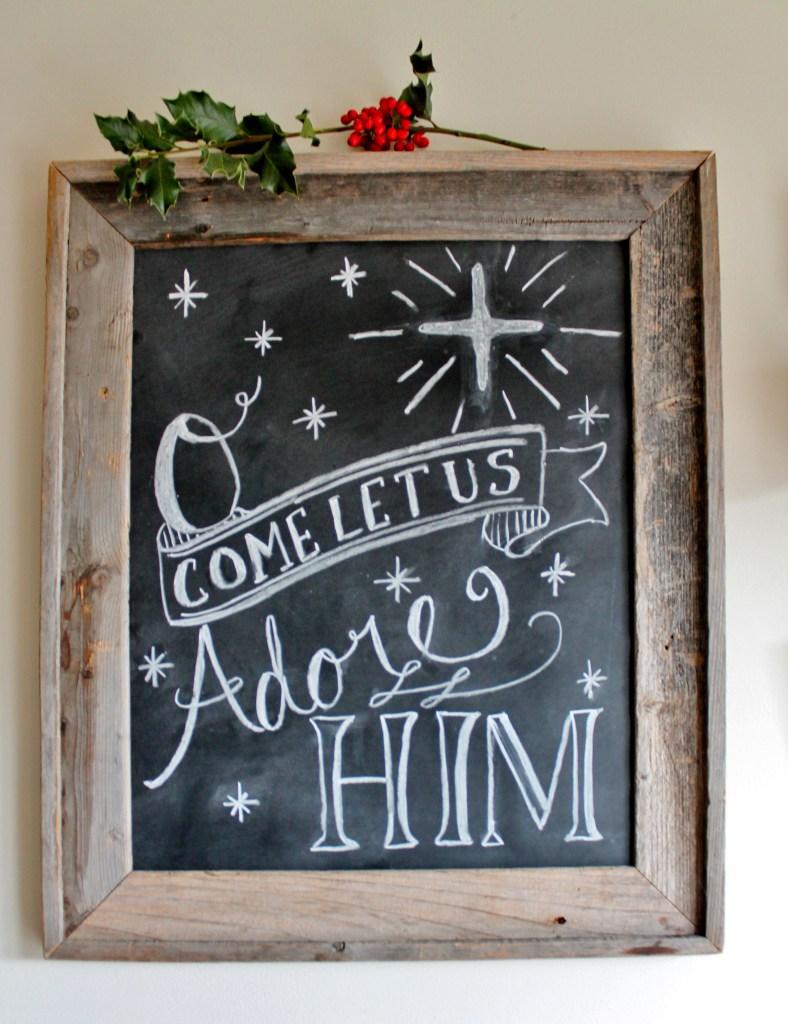 hand-lettered-christmas-chalkboard