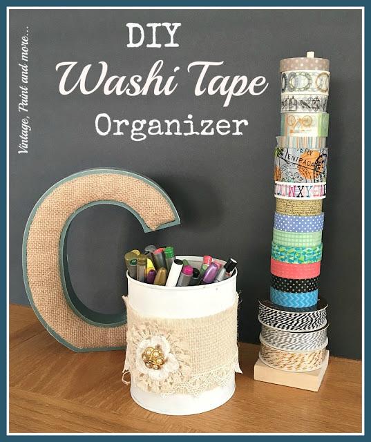 IMG_0991[1] diy washi tape organizer with tin can pencil holder pinterest image
