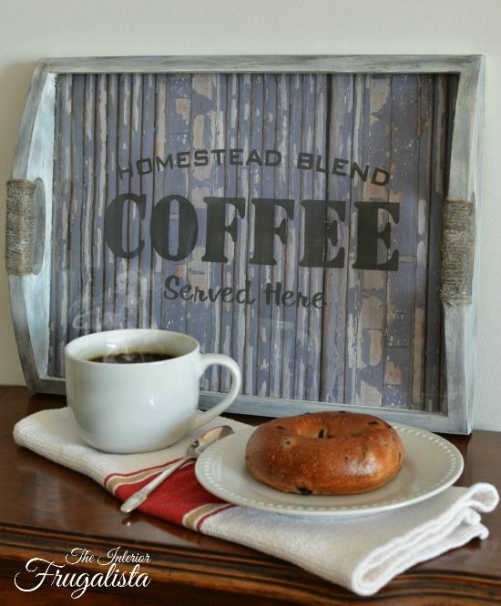 Coffee Tray 2W