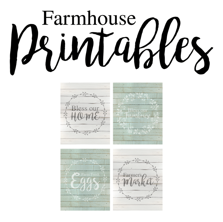 Check out these farmhouse free printables for cute inspirational quotes.