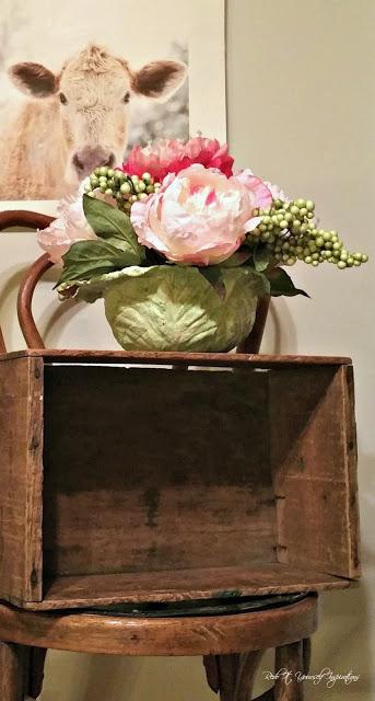 cabbage floral arrangement
