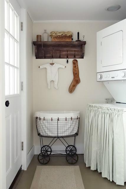 small farmhouse laundry room