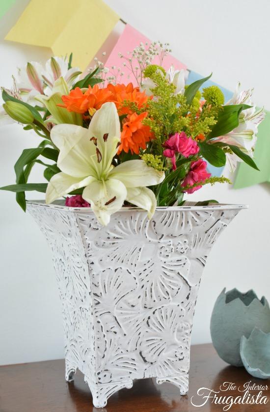 Tin Vase 4W