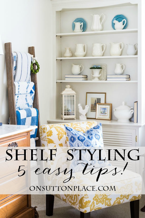 shelf-styling-5-easy-tips